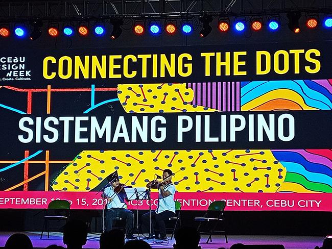 Connecting the Dots, Sistemang Pilipino