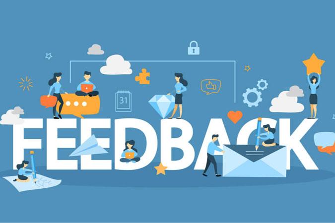 Seek for feedback