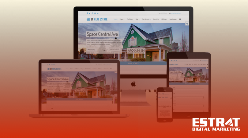Real Estate Website Deveopment and Design