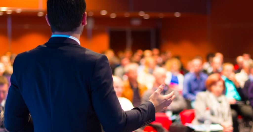 SPEAK AT INDUSTRY EVENTS AND CONFERENCES