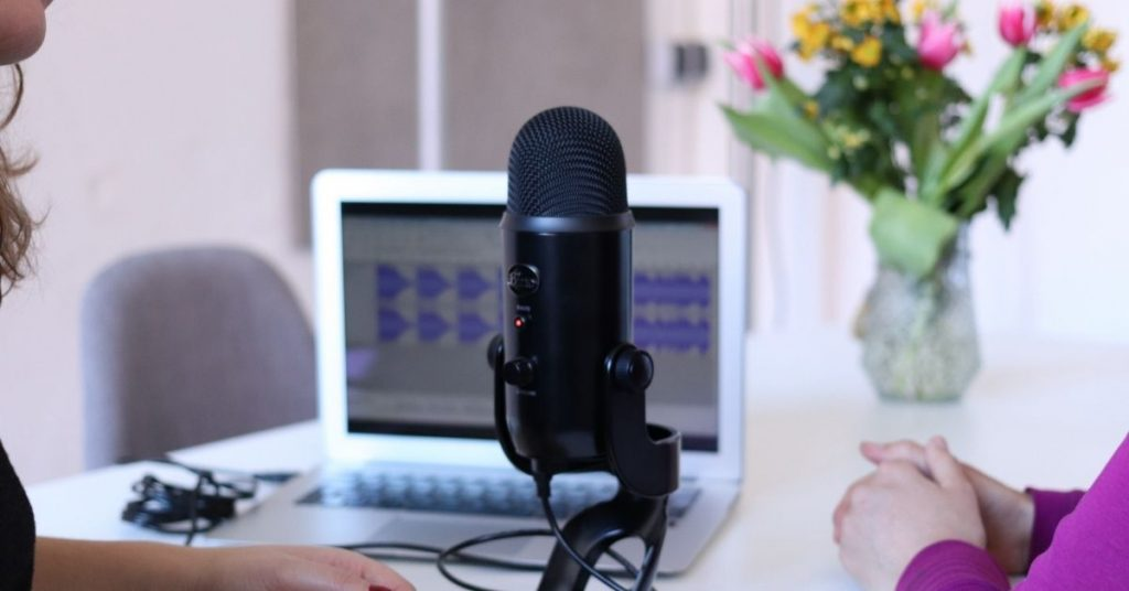 BE INTERVIEWED ON RELEVANT PODCASTS