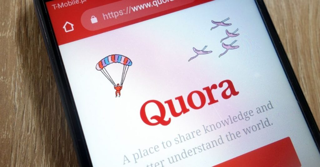 ANSWER QUESTION ON QUORA