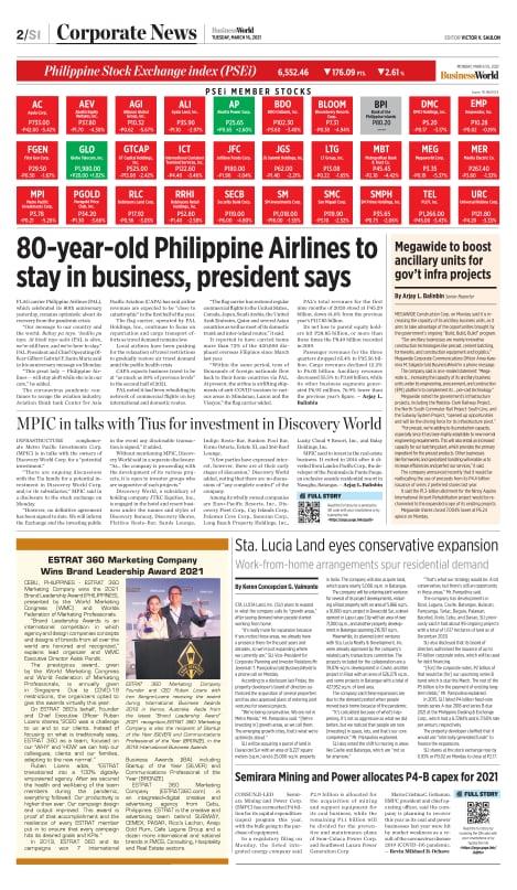 ESTRAT Feature in BusinessWorld Page 2